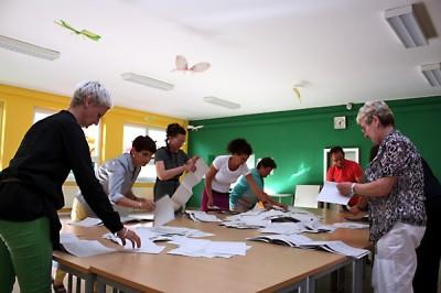 Wahlen im Dreierpack