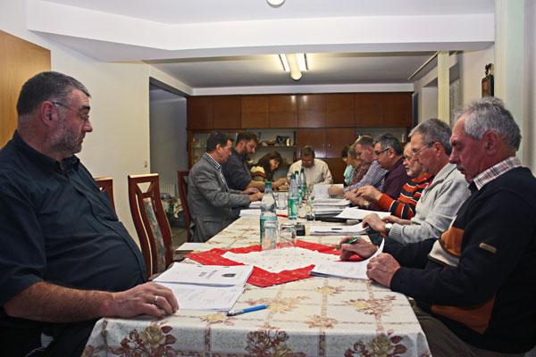 Bürgermeister und Gemeinderat