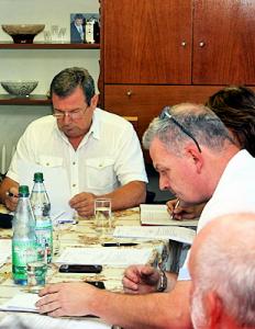 Gemeinderatssitzung in Großsteinberg