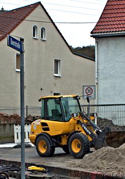 Naunhofer Straße wegen Bauarbeiten gesperrt